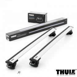 Krovni nosači Thule aluminijumski za automobile sa uzdužnim šipkama